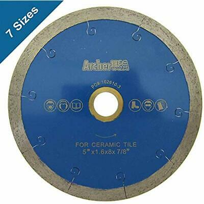 "Ceramic 4Pc 4"" J-Slot Diamond Tile Blade Dry//Wet Cutting Premium for Porcelain"