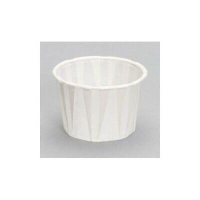 Waxed Paper x 1000-Disposable-Portion/sauce Dipping Cups-Pots 28ml 1fl oz