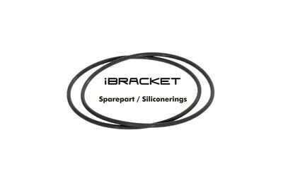 Ibracket Replacement - Silicone Rings Black (2 Piece)