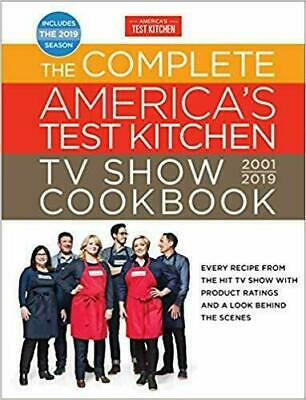 The Complete America's Test Kitchen TV Show Cookbook 2001 - 2019 Digital P-D-F