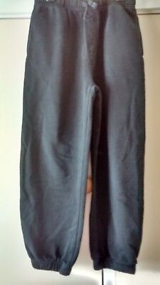 Black Jogging Bottoms Age 7-8 Years