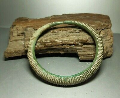 Rare Ancient Artifact Cooper Bracelet EUROPEAN BRONZE AGE 1500-1000 BC #2623