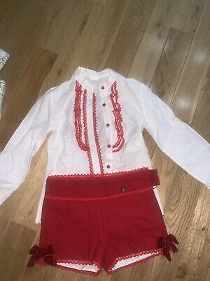 Dolce Petit Age 12, Christmas Outfit , Girls
