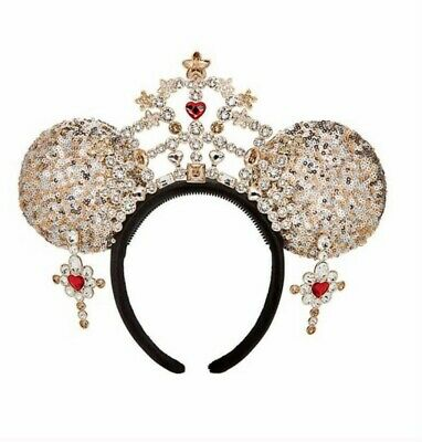 Heidi Klum's Minnie Mouse Ears - Disney Parks Designer Collection - New-Limited