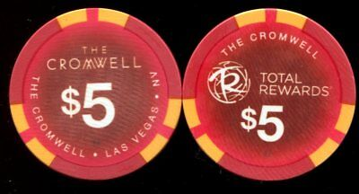 $5 Las Vegas The Cromwell Casino Chip - Uncirculated