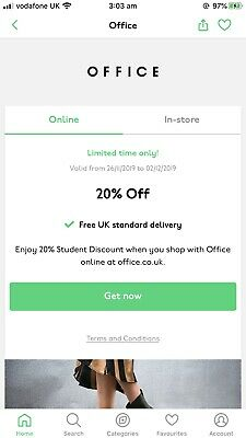 OFFICE Discount Code(20%OFF)
