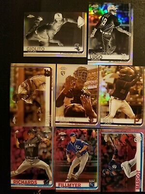 2019 Topps Chrome All Refractor Lot of 43-Pink-Sepia-Prizm-XFractor-All Listed