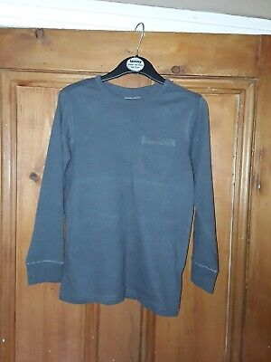 Boys Next Casual Grey Long Sleeve Top Age 6 Years