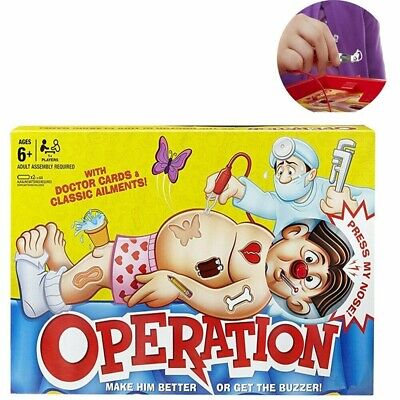 Operation Classic Board Game Kids Family Fun For Childrens Xmas Gifts Toys New