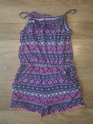 Girls PRIMARK Playsuit - 10-11 Years- Multi Coloured
