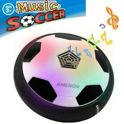 Indoor LED Hover Ball Air Power Floating Soccer Ball Light Up Music Football Toy