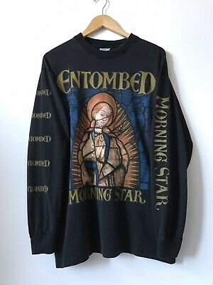 Entombed 'Morning Star' Longsleeve Tour Shirt • VTG   Vintage