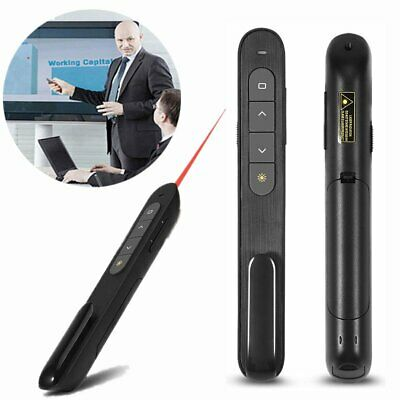 Wireless Remote Control USB PowerPoint PPT Presenter Lasers Clicker Pointer Pen