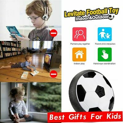 INDOOR LED Hover Ball Air Power Floating Soccer Light Up Football Disc Xmas Toy