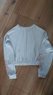 Girls River Island TopAge 7-8yrs Excellant ConditionLong sleeve crop top