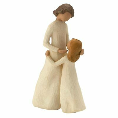 Willow Tree Mother & Daughter Figurine Resin Mum Day Keepsake Ornament Gift Box