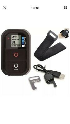GoPro WiFi Remote Control + Key  + charging cable +wrist band