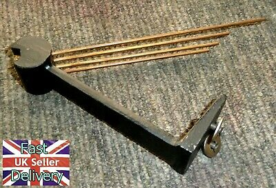 Vintage Westminster  Chime Bar / Gong + Original Bolts. Excellent Condition.