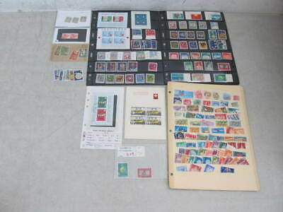 Nystamps Switzerland many mint stamp collection
