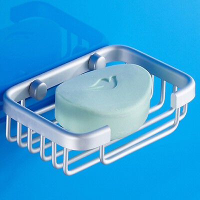 1 Pc Stainless Steel Wall Mounted Shower Soap Holder Soap Dish Basket Tray Rack