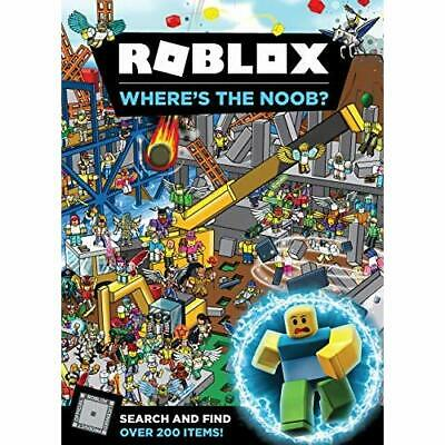 Roblox Where's the Noob? Search and Find Book - Hardback NEW UK, Egmont Publ 23/