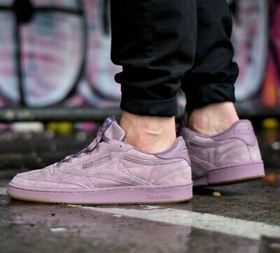 REEBOK CLASSIC CLUB C 85 PASTEL LOW SNEAKER MEN SZ 10.5 PiNK