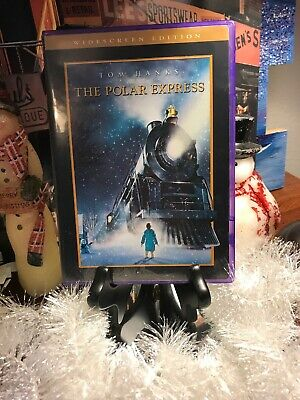 The Polar Express Widescreen Edition Christmas Family Classic. Cool Purple Case!