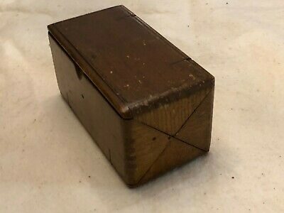 Vintage Singer Puzzle Box- Box Only For Original Treadle Sewing Machine