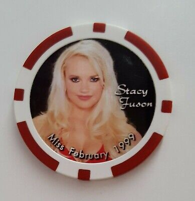 Las Vegas Palms $100,000 Poker Playmate Stacey Fusem NCV Casino Chip