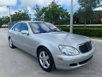2004 Mercedes-Benz S-Class S500 Low Miles Clean Carfax Fully Loaded Garage Kept Well Maintained Books & Records