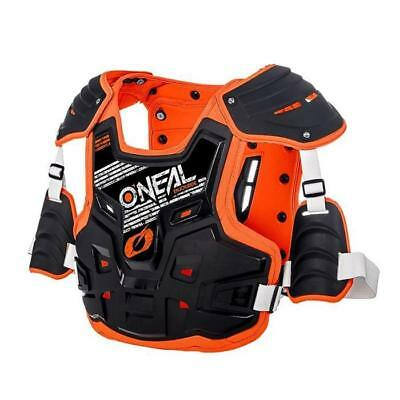 Oneal 2018 Pxr Stone Shield Chest Armour - Schwarz - Orange Motocross Enduro MX