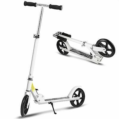 Ancheer Folding Kick Scooter Sport Portable Adjustable Street Teen/Adult 2Wheels