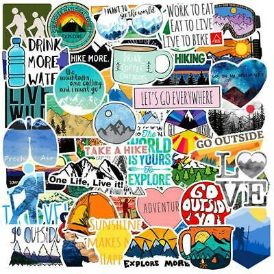 50 Funny Skateboard Stickers Vinyl Laptop Luggage Decals Dope Sticker Lot Cool~