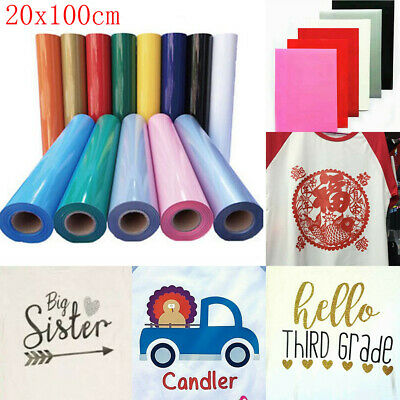 Vinyl Roll PU Heat Transfer Vinyl Iron-on Heat Press HTV T-Shirt Fabrics Film