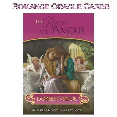 44pcs Romance Angel Oracle Cards Tarot Cards Game Card Set Gift 101*74mm English