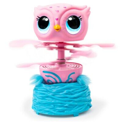 Owleez Pink Dancing Singing Flying Owl Interactive Toy Teach Me To Fly Kids Gift