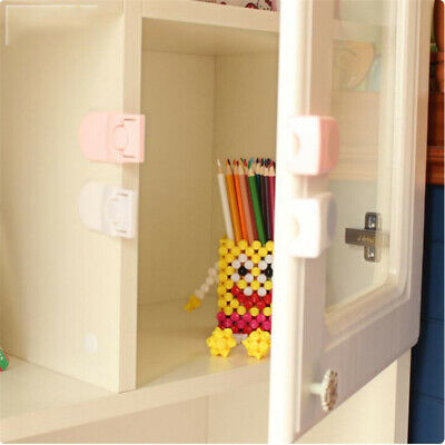 Children Safety Protection Drawer Lock Right Angle Self-locking Baby Safety Lock
