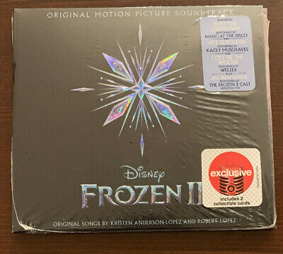 NEW Disney Frozen 2 Target Exclusive Limited Edition CD Original Soundtrack OST