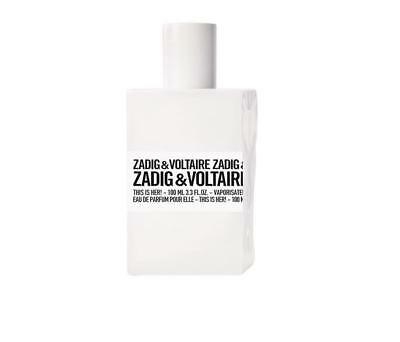 Zadig & Voltaire This is Her! 100 ml EDP Eau de Parfum Spray Originalverpackt!