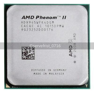 AMD Phenom II X4 945 95W 3.0GHz Quad-Core CPU Processor HDX945WFK4DGM