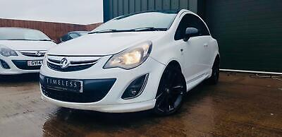 2012 Vauxhall Corsa 1.2 Limited Edition 3dr HATCHBACK Petrol Manual