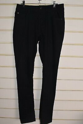New Look 915 Girls Youths Skinny Jeans - Black - Size Age 14 (RefE6)