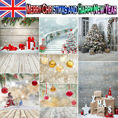Christmas Bauble Backdrop Abstract Balls Snowflakes Snowman Snow Background