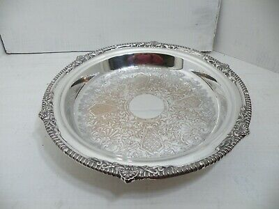 Large Silver Plated Serving Dish By Viners
