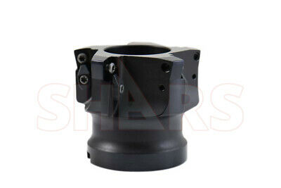 DZ Sales 63mm Indexable Face Mill Coolant Through