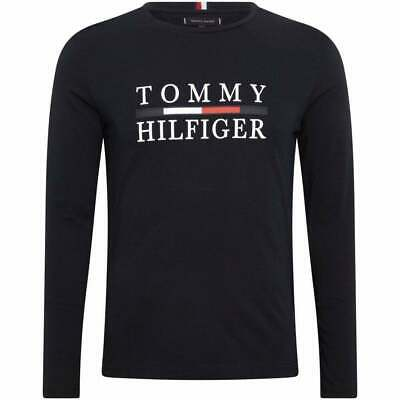 Tommy Hilfiger MW09828-403 Icon Woven Label T-Shirt In Navy