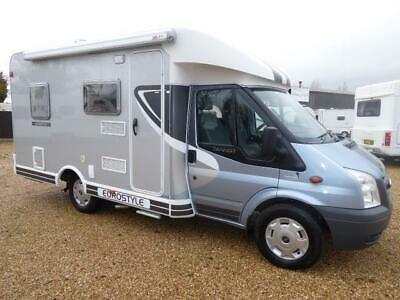 2011 Dethleffs Sunlight Eurostyle T58 3 Berth Ford 2.2 Td Fixed Corner Bed With
