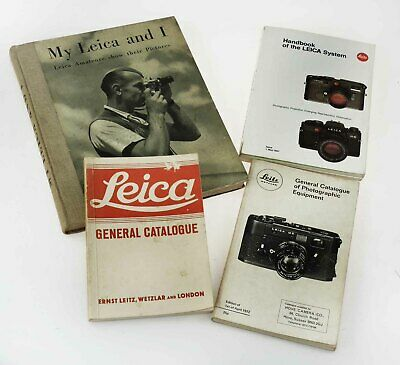 Leica General Catalogues - 1936 & 1972.