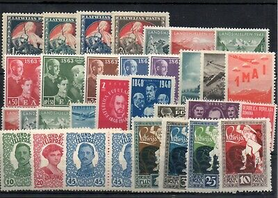 Old stamps of WORLDWIDE MNH-MLH collection
