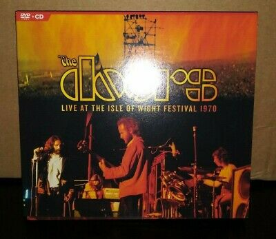 The Doors - Live At The Isle Of Wight Festival 1970 CD And DVD Near Mint